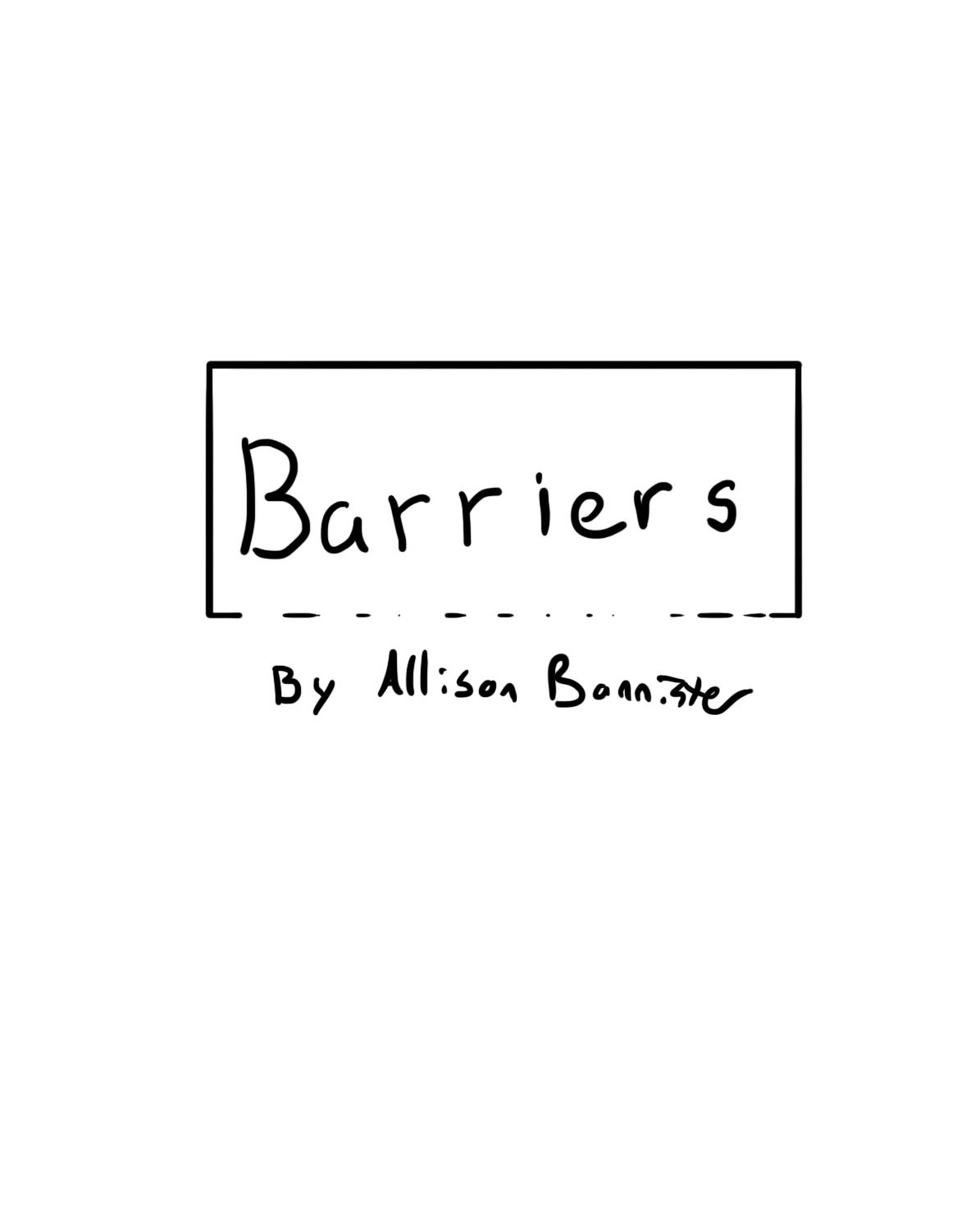 Barriers 1